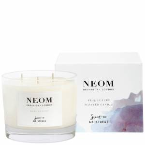 Neom Organics London - Scent To De-Stress Real Luxury Candle (3 Wicks) 420g  for Women