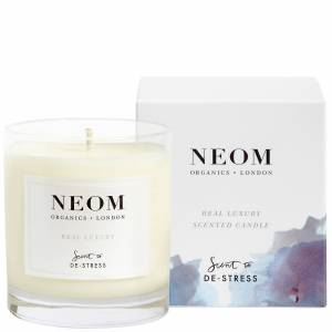 Neom Organics London - Scent To De-Stress Real Luxury Candle (1 Wick) 185g  for Women