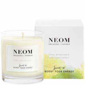 Neom Organics London - Scent To Boost Your Energy Feel Refreshed Scented Candle (1 Wick) 185g  for Women