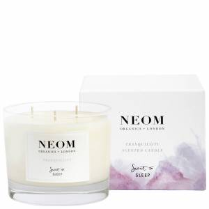 Neom Organics London - Scent To Sleep Tranquillity Scented Candle (3 Wick) 420g  for Women
