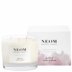 Neom Organics London - Scent To Calm & Relax Complete Bliss Scented Candle (3 Wicks) 420g  for Women
