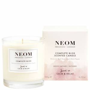 Neom Organics London - Scent To Calm & Relax Complete Bliss Scented Candle (1 Wick) 185g  for Women