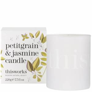 thisworks - Gifts Petitgrain & Jasmine Candle 220g Limited Edition  for Women