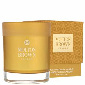 Molton Brown - Mesmerising Oudh Accord & Gold Single Wick Candle 180g  for Men and Women