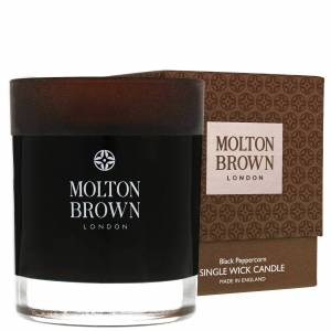 Molton Brown - Black Peppercorn Single Wick Candle 180g  for Men and Women