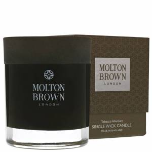 Molton Brown - Tobacco Absolute Single Wick Candle 180g  for Men and Women