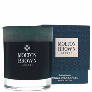 Molton Brown - Russian Leather Single Wick Candle 180g  for Men and Women