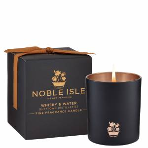 Noble Isle - Home Fragrance Whiskey & Water Fine Fragrance Candle 200g  for Men and Women