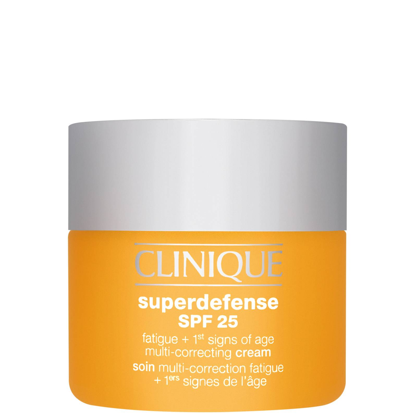 Clinique - Superdefense Fatigue + 1st Signs of Age Multi-Correcting Cream for Very Dry to Dry Combination Skin SPF25 50ml  for Women