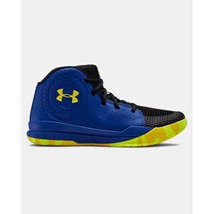 Under Armour Grade School UA Jet 2019 Basketball Shoes Blue Size: (4.5)