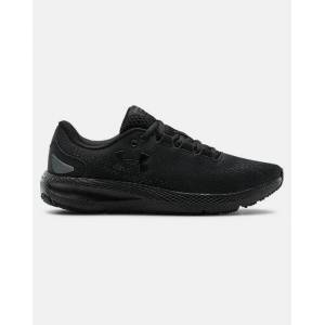 Women's UA Charged Pursuit 2 Running Shoes Black Size: (4.5)