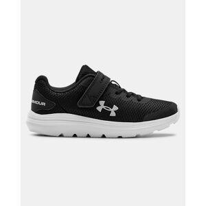 Under Armour Pre-School UA Surge 2 AC Running Shoes Black Size: (2.5)