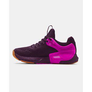 Under Armour Women's UA HOVR™ Apex 2 Gloss Training Shoes Purple Size: (3.5)