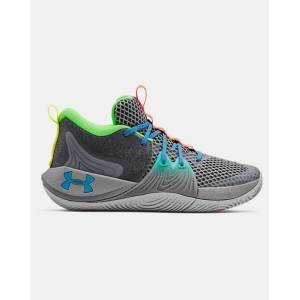 Under Armour Unisex UA Embiid One 'Gamer Night' Basketball Shoes Gray Size: (10)