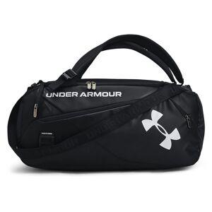 Under Armour Unisex UA Contain Duo Small Duffle Black Size: (OSFA)