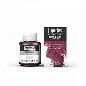 LIQUITEX Special Release Collection, Soft Body Acrylic Paint, Muted Violet, 4.5 x 4.5 x 7.8 cm