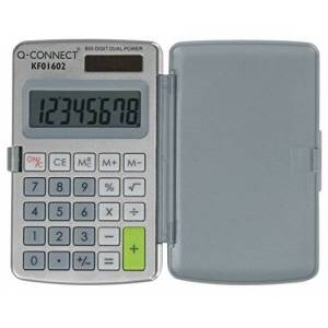 Q-Connect Q Connect 8-Digit Pocket Calculator