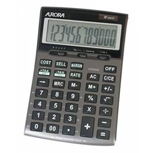 Aurora DT665 Large Business Calculator (with Cost Sell Margin and Tax)