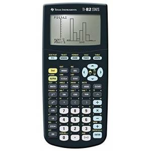 Texas Instruments TI 82 Stats Graphic Calculator, Battery