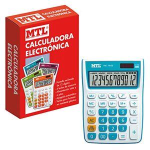 MTL Calculator Mediana blue