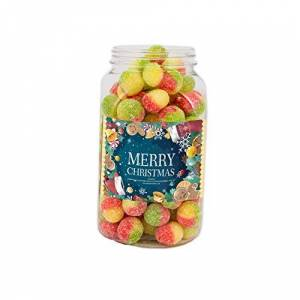 Mr Tubbys Rosey Apples - Merry Christmas Green Label - Medium Jar 700g(Pack of 1)