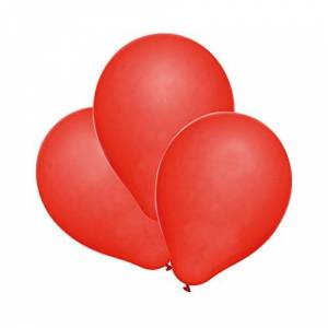 Susy Card 40011417Balloons, Pack of 100Red
