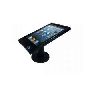 Unique Secure Hypertec KC023PHY Pole Stand with Home Button Covered Enclosure for iPad Mini - Black