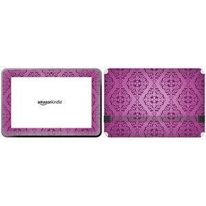 "GetitStickit VeUKSkinTabAmaFireHD89_79""Purple Colour Diamond Shaped Pattern Removable Skin for 8.9-Inch Amazon Kindle Fire HD"