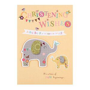 Hallmark Christening Card 'New Beginnings' - Medium