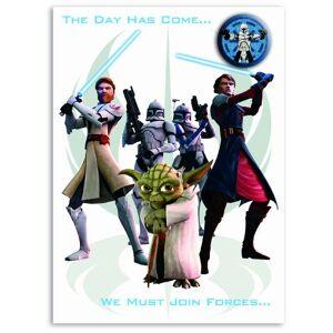 STAR WARS CLONE WARS Star Wars SW355 Clone Wars General Birthday
