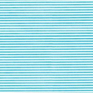 Caspari Seersucker Stripe Continuous Gift Wrapping Paper Roll, 1.5-Meter, Turquoise