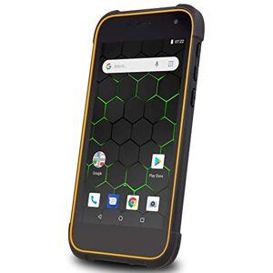 "Hammer Active 2 LTE Dual Sim Tough Rugged Waterproof IP68 Sim Free 4G LTE Wi-Fi Bluetooth Smart Phone, 5"" IPS HD display, 8MP camera, 8GB, quad core, Black/Orange"