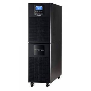 Nilox UPS Online Pro Uninterruptible Power Supply 10000VA, Battery 7.2Ah