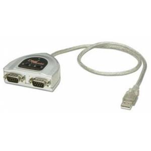 LINDY USB to 2 Port Serial RS-422/RS-485 Adapter