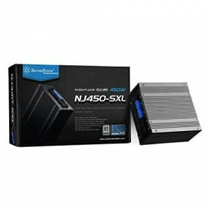 Silverstone SST-NJ450-SXL - Nightjar Series, 450W 80 Plus Platinum SFX-L PC Power Supply, fanless, 100% modular