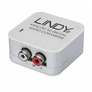 LINDY Analogue Stereo to SPDIF Digital Audio Converter