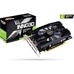 Inno3D Gaming OC GeForce GTX 1660 Compact X1 6GB GDDR5 Graphics Cards (GeForce GTX 1660, 6GB, GDDR5, 192 bit, 7680 x 4320 pixels, PCI Express x16 3.0)