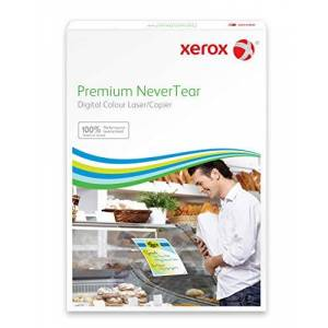 Xerox Premium NEVERTEAR Synthetic White 120μm 320x450mm, Pack of 500 Sheets/Sheets, 003R98035