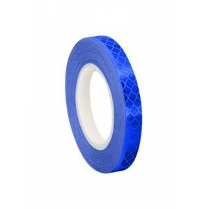 3M 3435 Blue Micro Prismatic Sheeting Reflective Tape, 19mm x 4.6m (1 Roll)