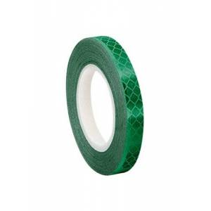 3M 3437 Green Micro Prismatic Sheeting Reflective Tape, 13mm X 4.6m (1 Roll)