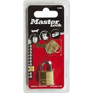 Master lock Luggage Padlock Keyed Gold (Brass) 120EURD