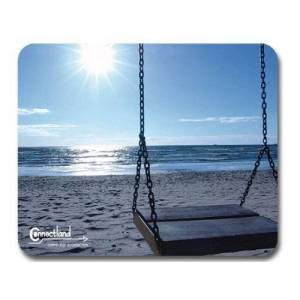 Connectland CNL TS08 Mouse Pad Beach and Sun Design