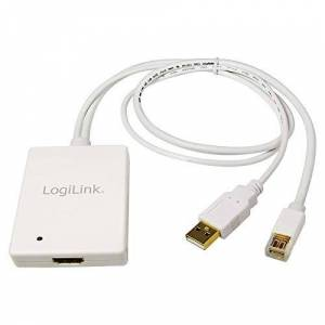 Logilink Mini Display Port and USB Audio to HDMI Adapter