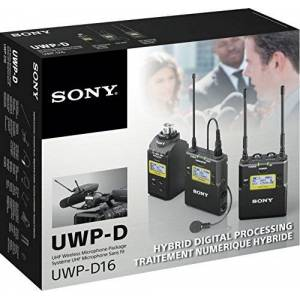 Sony UWP-D16 / K33 ENG Wireless Microphone Set