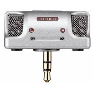 Olympus ME55SS Stereo MIC for DS 55(Silver)