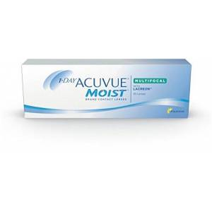 1-DAY ACUVUE MOIST MULTIFOCAL WITH LACREON - Contact Lenses - 1-DAY ACUVUE MOIST MULTIFOCAL WITH LACREON - 30 pcs