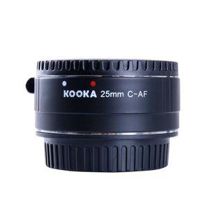 Kooka KK-C25A Extension Tube Kit for Canon 25 mm Black