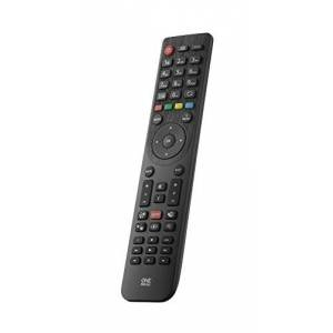 One For All 'One for All URC1918Telefunken TV replacement remote control Works with all TV Black