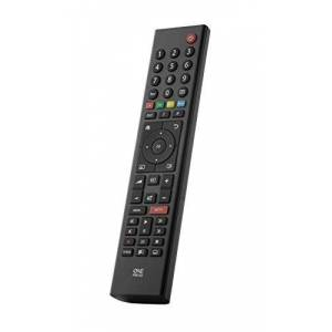 One For All Grundig TV Replacement remote URC1915 - Works with ALL Grundig televisions (LED,LCD,Plasma) - Ideal TV replacement remote control with same functions as the original Grundig remote - black