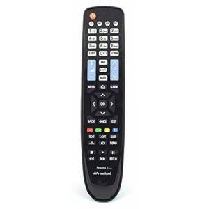 Meliconi Personal 2 Plus Replacement Tv Remote Control For Lg Tv With Impact-Proof Rubber